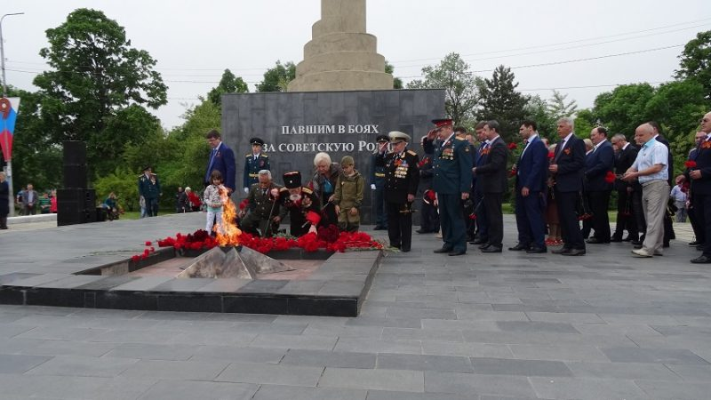 Почтили память героев ВОВ